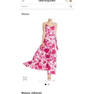 Betsey John Rose Maxi Gown